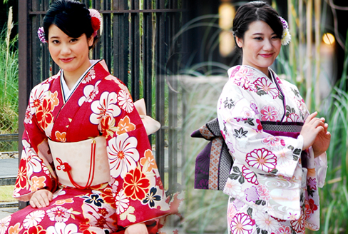 Premium plan (for women) Kimono photo